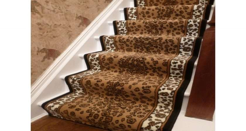 Modern Accessories Bedroom Animal Print Stair Runner