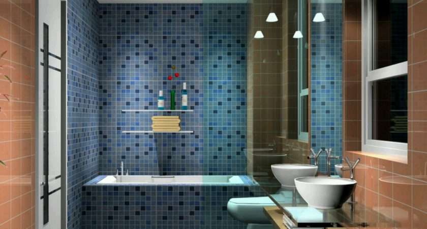 Modern Bathroom Designs Ideas Mosaic Tile Wall