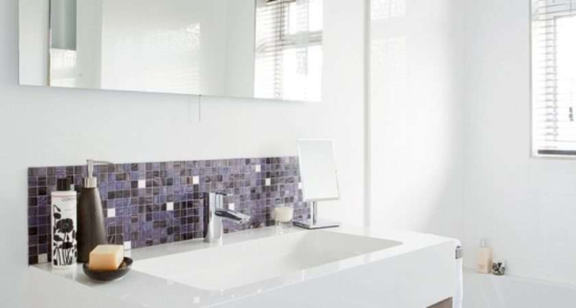 Modern Bathroom Mosaic Tiles Designs