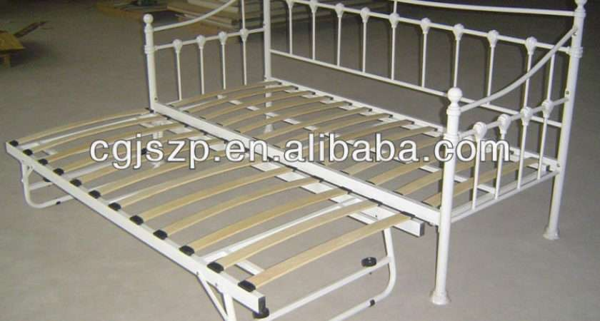Modern Bedroom Furnitur Hot Sale Cheap White Metal Daybed