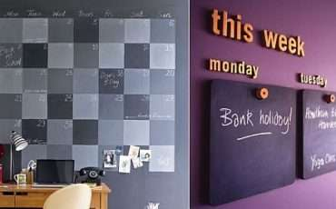 Modern Blackboard Decorating Inspiration