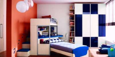 Modern Blue Theme Teen Room One Total Photographs