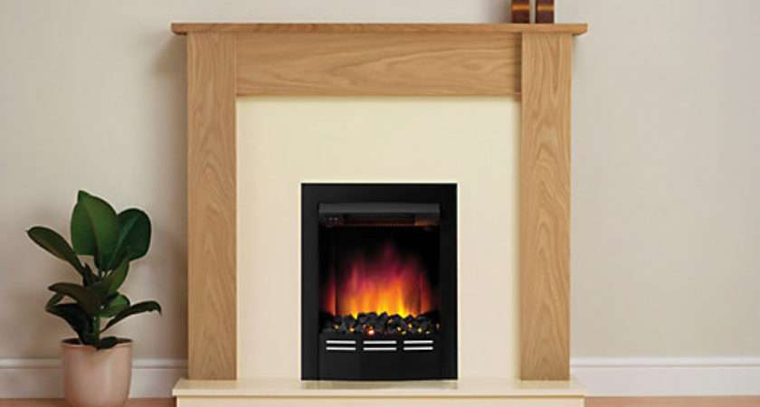 Modern Bromley Electric Fire Suite Wickes