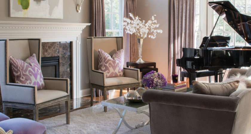 Modern Classic Interiors Traditional Living Room New
