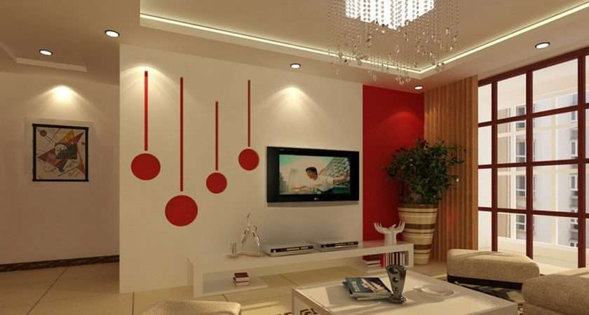 Modern Colors Living Room Wall Rooms