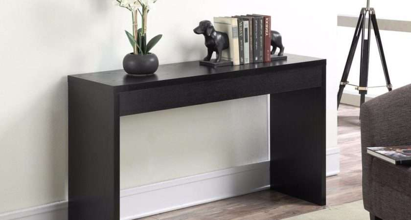 Modern Console Accent Table End Sofa Entryway Hallway