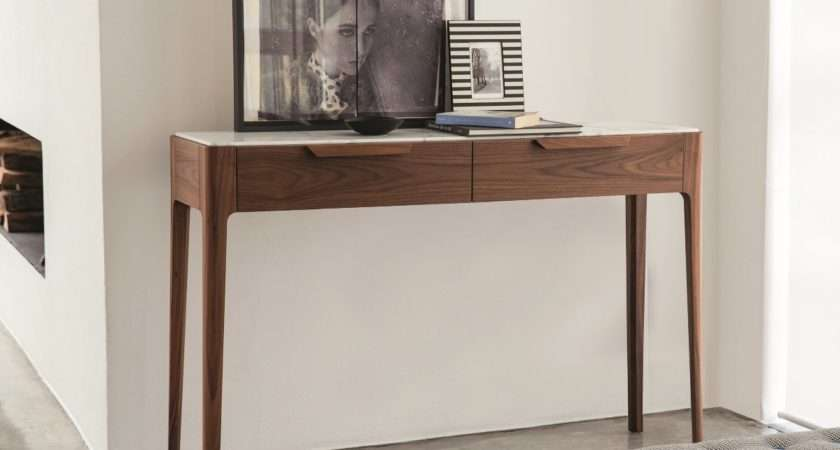 Modern Console Table Drawers Brokeasshome