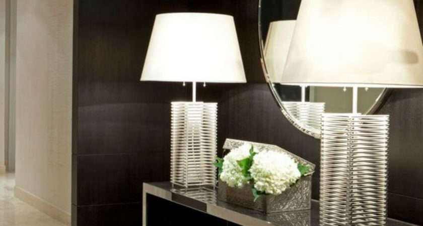Modern Console Tables Contemporary Interiors