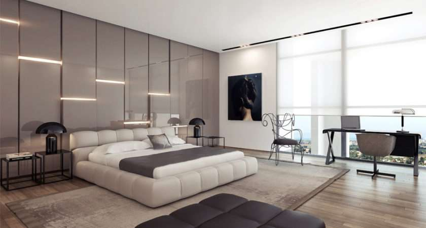 Modern Contemporary Bedroom Design Ideas Excellent