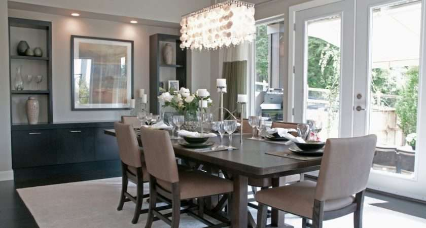 Modern Contemporary Dining Room Chandeliers Gray
