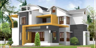 Modern Contemporary Kerala Home Design Indian
