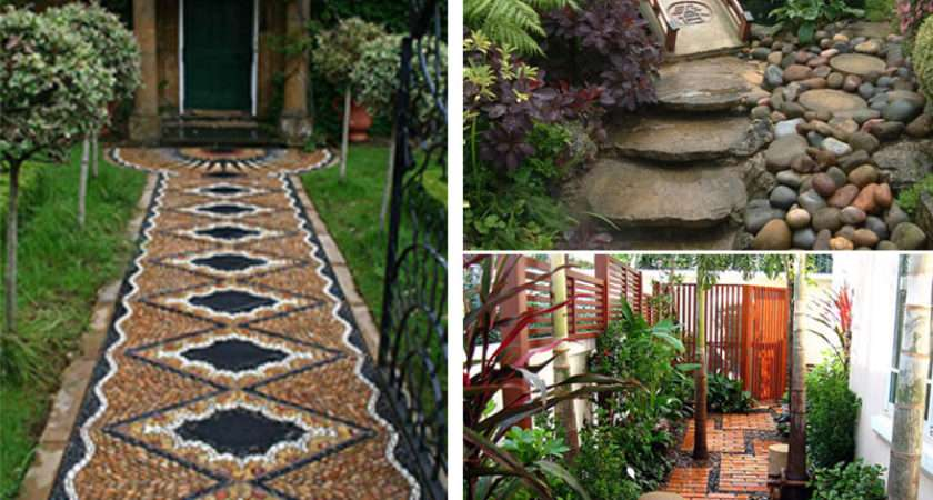 Modern Contemporary Traditional Home Garden Pathways