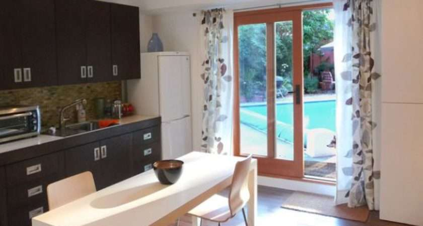 Modern Curtains Adorn Your Sliding Glass Doors Style