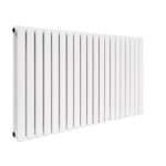 Modern Designer Radiator Horizontal Oval Column Double