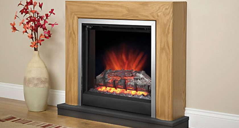 Modern Devonshire Electric Fire Suite Wickes