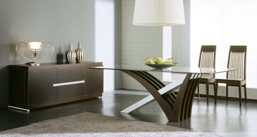 Modern Dining Room Table Home Decor Interior Design Ideas
