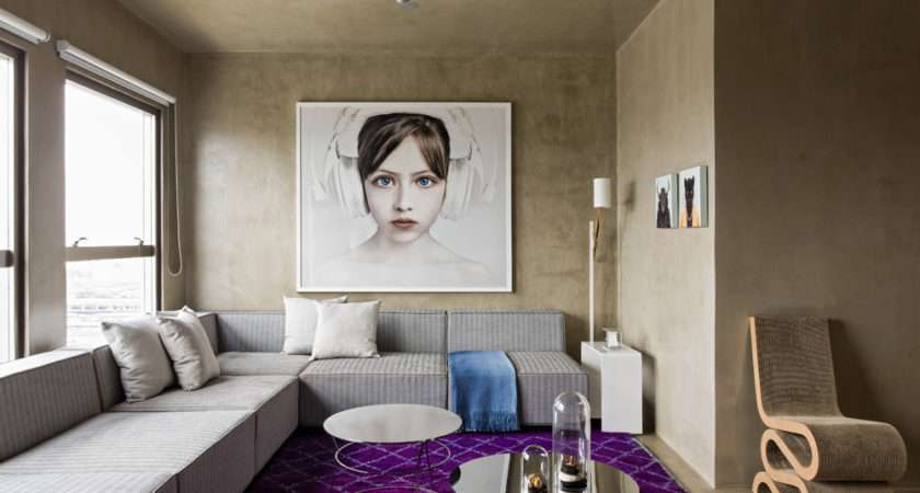 Modern Funky Decorating Ideas Living Room