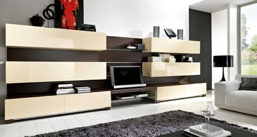 Modern Furniture Living Room Cabinets Designs