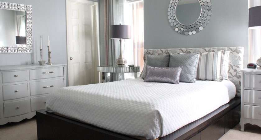 Modern Glam Master Bedroom Reveal Homes Have Made