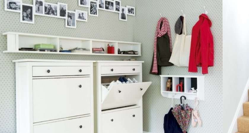 Modern Hallway Storage Ideas Shoe