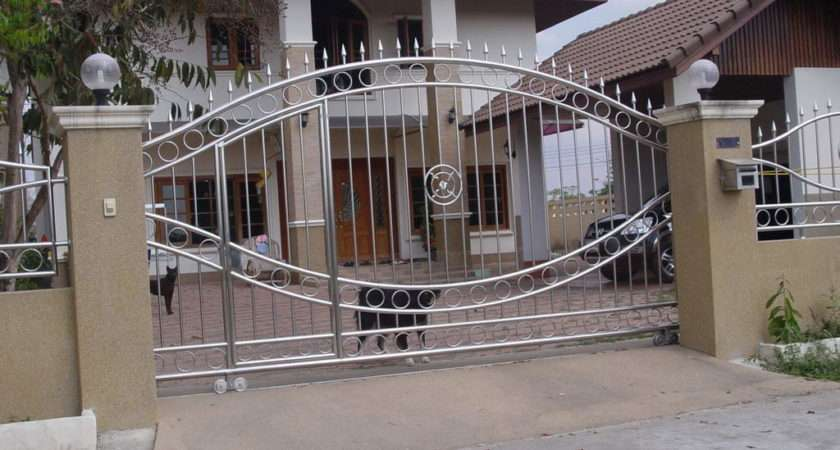 Modern Homes Main Entrance Gate Designs Home