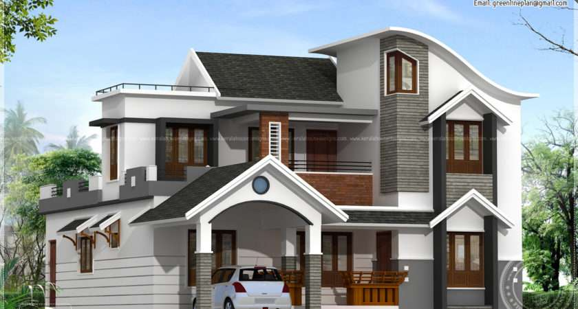 Modern House Architecture Kerala Home Plans
