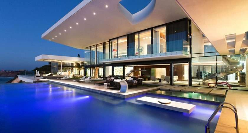 Modern House Pool Architecture