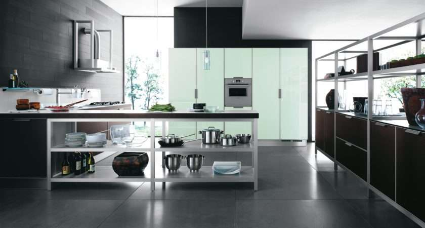 Modern Italian Kitchen Designs Cesar Simple