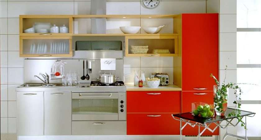 Modern Kitchen Small Spaces Space Design
