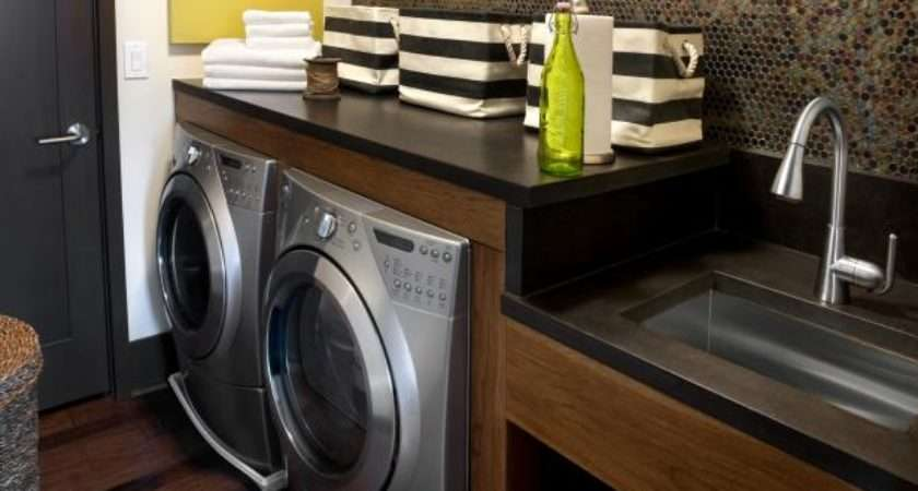 Modern Laundry Room Designs Options Tips