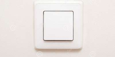 Modern Light Switch White Wall