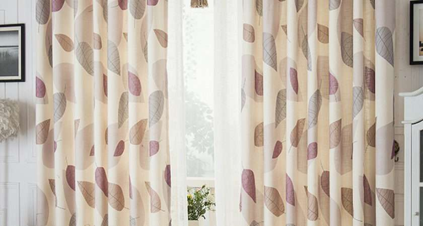 Modern Linen Cotton Ready Made Customize Country Curtains
