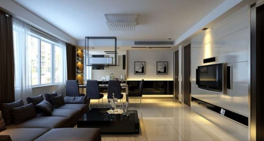 Modern Living Dining Rooms House