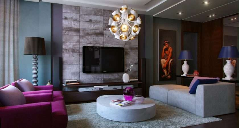 Modern Living Room Decor Cream Brown Rooms