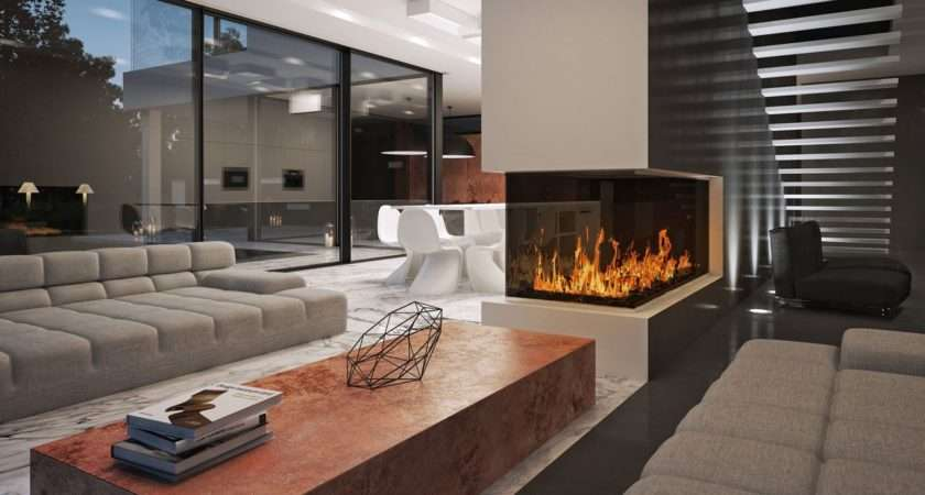 Modern Living Room Design Talented Architects