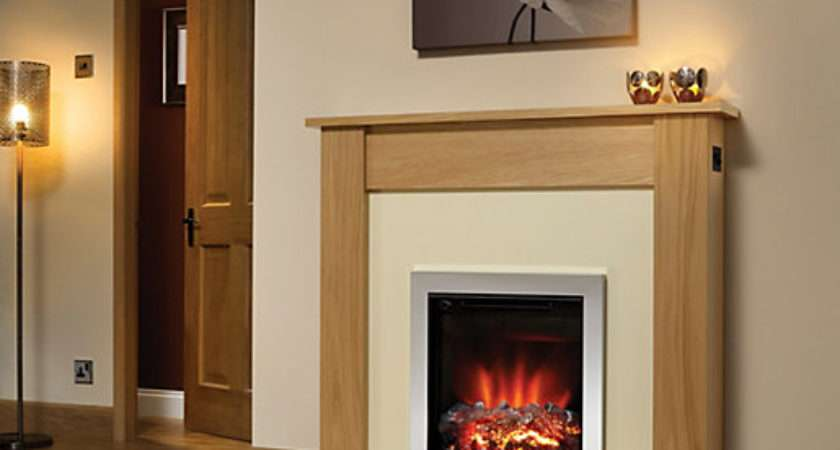 Modern Lyndhurst Eco Electric Fire Suite Wickes