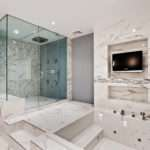 Modern Marble Bathroom Designs Ideas White Creative