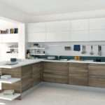 Modern Open Kitchen Design Little Touch Color Kdp