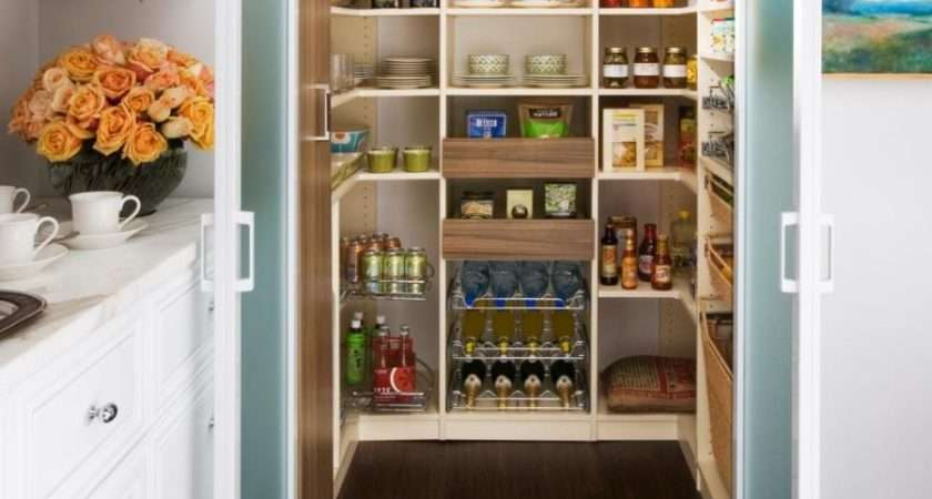 Modern Pantry Ideas Stylish Practical