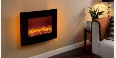 Modern Quattro Electric Fire Fires