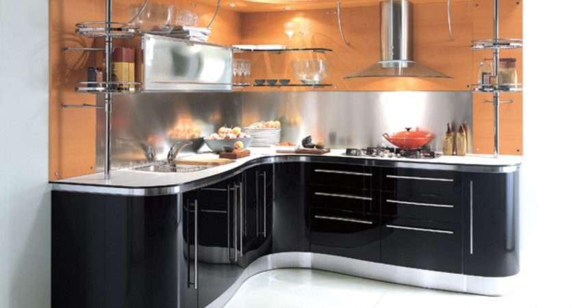 Modern Small Kitchen Cabinets Design