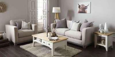 Modern Take Shabby Chic Lounge Room House Style Decor Pinte
