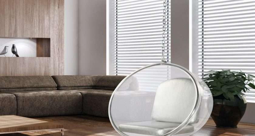 Modern Teen Bedroom Bubble Hanging Chairs Ceiling