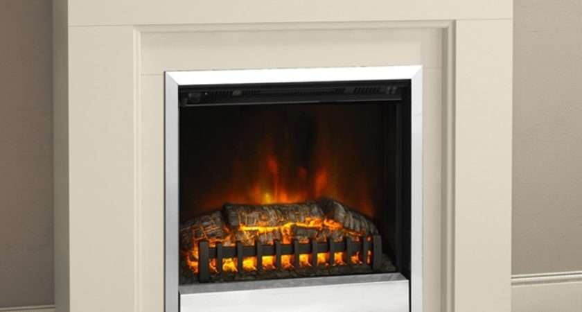 Modern Trowbridge Electric Fireplace Suite Mantel