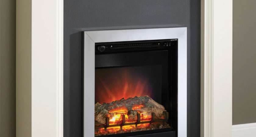 Modern Westcroft Electric Fireplace Suite Flames