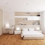 Modern White Cream Interior Bedroom Decor Decosee