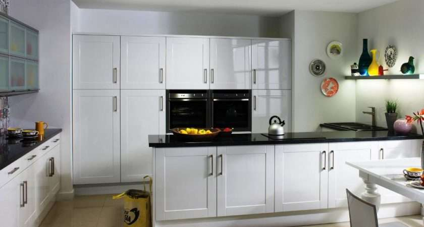 Modern White Shaker Kitchen Cabinets Designs Ideas
