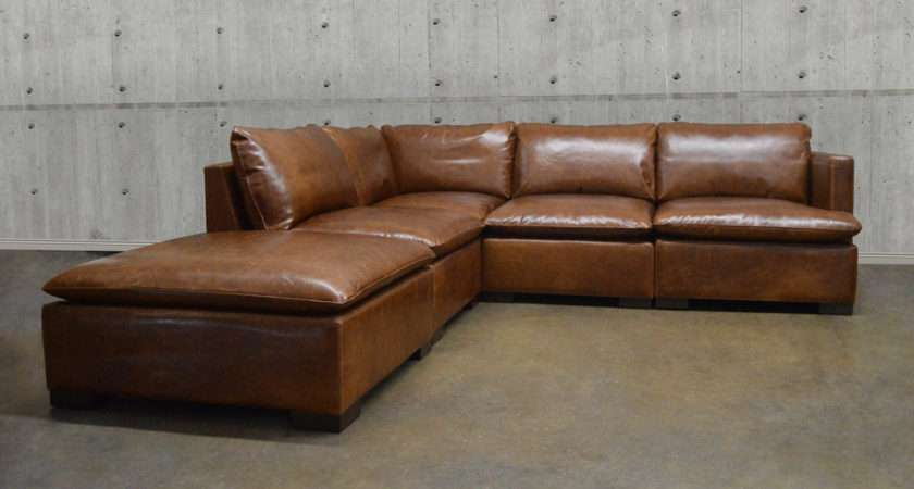 Modular Leather Corner Sofa Brokeasshome
