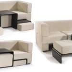 Modular Slot Sofa Dynamic Piece Furniture Perfect Small