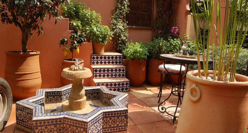 Moroccan Garden Flickr Sharing